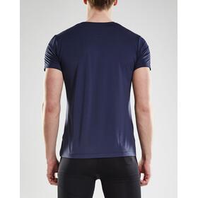 Craft Essential Bluzka z krótkim rękawem Mężczyźni niebieski